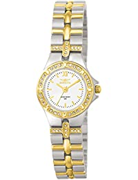 Women's 0133 Wildflower Collection 18k Gold-Plated and Stainless Steel Watch