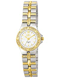 Invicta Women's 0133 Wildflower Collection 18k Gold-Plated and Stainless Steel Watch