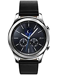 Gear S3 Classic Smartwatch 4GB SM-R770 with Leather Band (Silver) Tizen OS - International Version with No Warranty