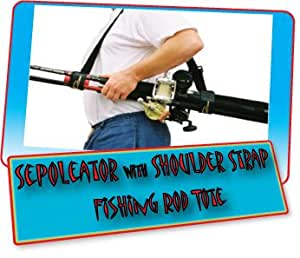 Sepoleator fishing rod carrying system for Wrap fishing system