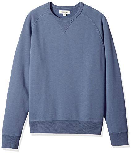 Goodthreads Men's Crewneck Fleece Sweatshirt, Vintage Indigo, Medium
