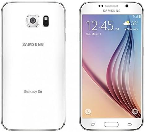 مروارید سفید سامسونگ Galaxy S6 G920V 128 GB - Verizon (مجوز مرمت شده)