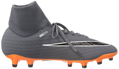 D Phantom M White Men's Orange Grey Academy Dark NIKE Cleat FG DF Total 3 11 Soccer 5 US qpvdwT5x