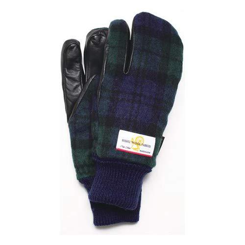 EVOLG(エヴォログ) タッチパネル対応手袋 ZEPTO LET 2601 グリーン チェック Medium