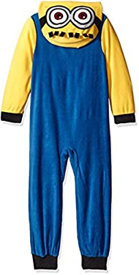 Despicable Me Minions Family Sleepewar Cosplay Union Suit