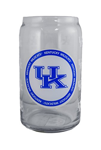 Boelter NCAA Kentucky Wildcats 16oz Ring of Honor Glass Can