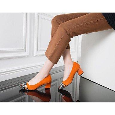 Flats Comfort Spring Black Women'S Casual EU36 Almond Flat Comfort CN36 UK4 Real US6 Leather 1Sdqw