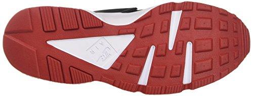 Nike Herren Air Huarache Schwarz / Gym Rot-Weiß