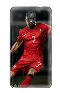 First-class Case Cover For Galaxy Note 3 Dual Protection Cover Cristiano Ronaldo Portugal 2013