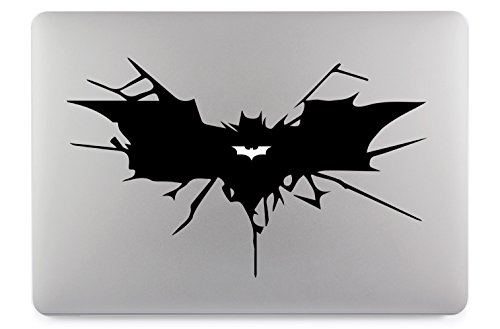 Batman Symbol Apple MacBook Air Pro Aufkleber Skin Decal Sticker Vinyl (13