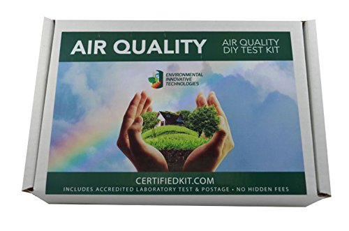 Professional Indoor Air Quality Do It Yourself Test Kit by EIT - Prepaid Lab Testing and Shipping Perfect for Your Home or Business