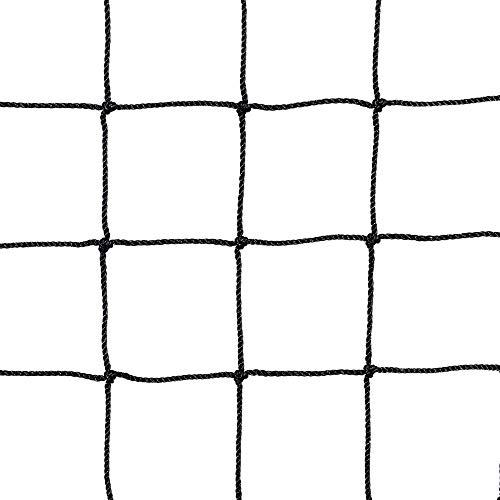 Yaheetech 10 x 20Ft Waterproof Baseball Backstop Net, Multi-use Net for Bird Against, Basketball Guard Net, Garden Net, etc 1.8' X 1.8' Square Mesh Size