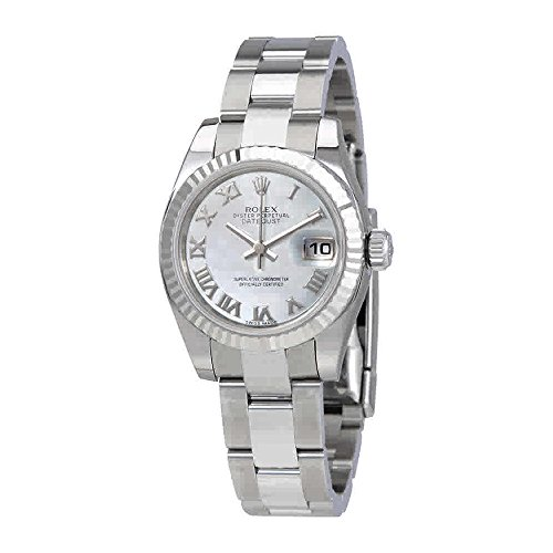- Rolex Lady Datejust 26 Mother of Pearl Dial Stainless Steel Oyster Bracelet Automatic Watch 179174MRO