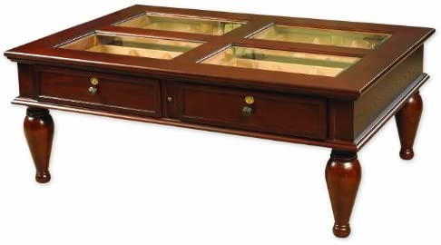 Quality Importers Trading HUM-CTH-M Coffee Table Humidor