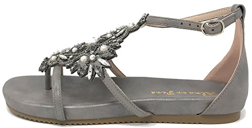 Alma en Pena Women's Fashion Sandals Grey 578N7DY