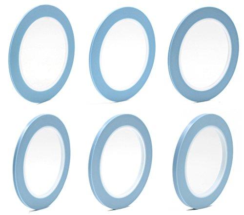 Mix 6Rolls High Temperature Fine Line Fineline Masking Tape Car Auto Paint 2mm 2.5mm 3mm 4mm 5mm 6mm