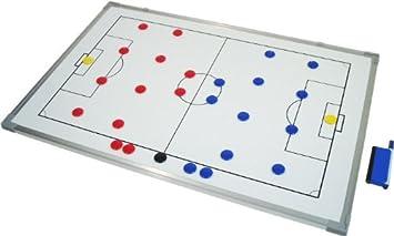 TABLERO Magnético- Pizarra para tácticas de futbol**- 45cm x 30cm -** Al Mejor Precio!!