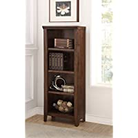 Craft and Main Rockwell 4-Shelf Bookcase, 23.25 Wide by 13.5 Deep by 61.25 Tall