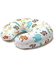 Niimo amningskudde liten baby med amningskuddfodral tillverkad av 100% bomull, avtagbar multifunktionell placering av mor och barn
