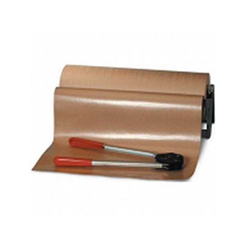 Box Packaging Poly Coated Kraft Paper Roll, 50#, 36'' x 600' 1 roll