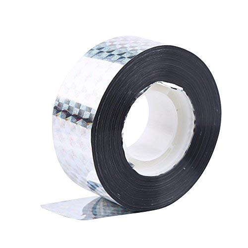 Bird Deterrent Reflective Tape, Bird Scare Ribbon Extra Large Double Side Repellent Tape Audible Visual Flash Reflector 90M Repellent Ribbon - Best for Pigeon Woodpeckers Holographic and All Birds Yosoo LEPAC9944