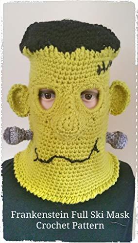 Frankenstein Ski Mask Crochet Pattern Kindle Edition By Sharon