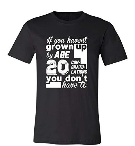 Funny 20 Th Birthday Gift Idea - 20 Years Old Funny Saying Birthday Par T-Shirt