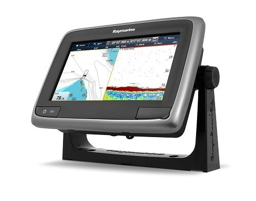 """Raymarine a77 Multifunction Display with Built-in Fishfinder, Wi-Fi & Navionics+, 7"""" Fish Finders And Other Electronics Raymarine"""