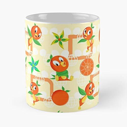 Walt Disney World Florida Halloween Party (Orange Bird Classic Mug - The Funny Coffee Mugs For Halloween, Holiday, Christmas Party Decoration 11 Ounce)