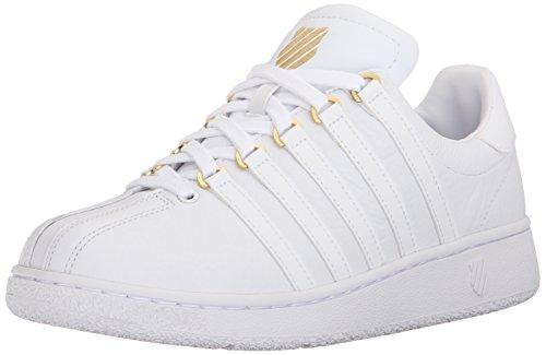 Weiß K Classic Top Sneakers Herren Weiß Gold Low 50 Vn Swiss qqrfw1Z8