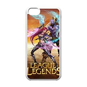 Plastic Durable Cover Lxkz League Of Legends For iPhone 5C Cases Cell phone Case