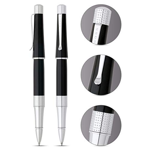 Cross Beverly Black Lacquer Selectip Gel Rollerball Pen