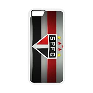 Sports so paulo fc iPhone 6 4.7 Inch Cell Phone Case White DIY Ornaments xxy002-9218096