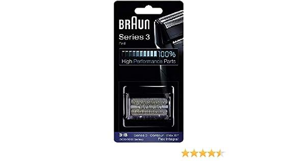 Braun – Rejilla + cuchillo COMBIPACK 31B para afeitadora Braun ...