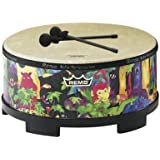 """Remo Kids Percussion Gathering Drum - Fabric Rain Forest, 16"""""""