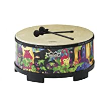 Remo Kids Percussion Gathering Drum - Fabric Rain Forest, 16