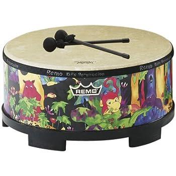 Amazon Com Remo Kids Percussion Floor Tom Drum Fabric