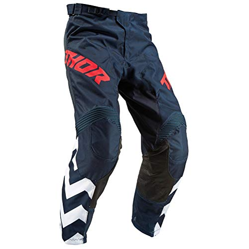 (Thor Pulse Stunner MX Pants 36 inch Blue)