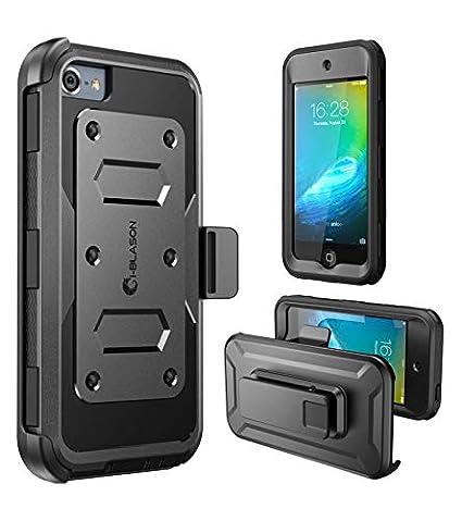 i-Blason Apple iPod Touch 6 Generation Hülle Armorbox Case 360 Grad Handyhülle Dual Layer Schutzhüllemit eingebautem Displays
