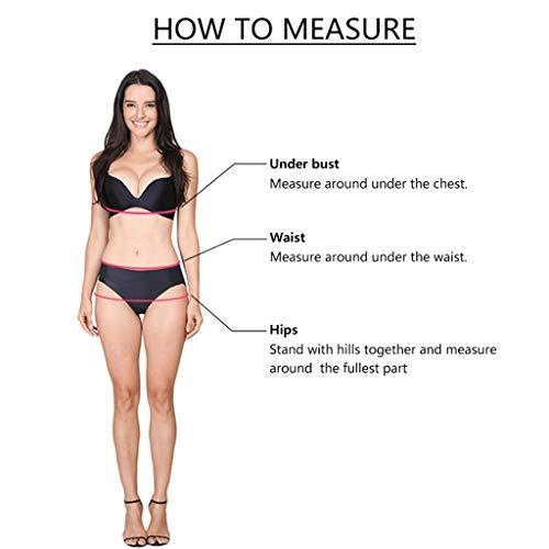 durable modeling WUSIK Bikini Set DamenTeen Mädchen Tankini