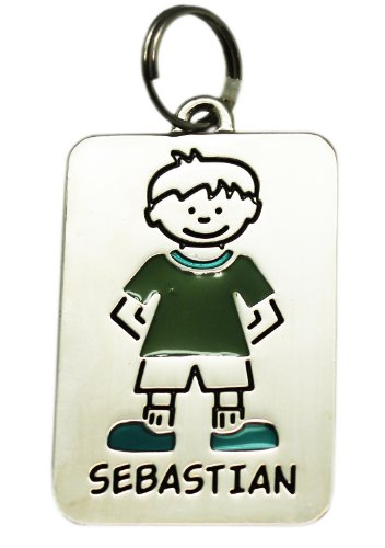 Price comparison product image Sebastian Kids Name Tag Charm by Ganz