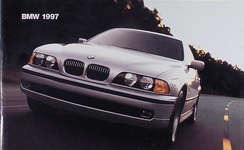 1997 BMW Sales Brochure Original--All Models (Sales Bmw Brochure)