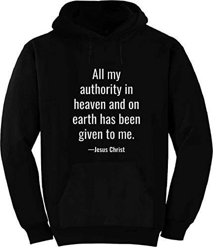 All My Authority in Heaven and on Earth Hoodie Black (All Authority In Heaven And On Earth)