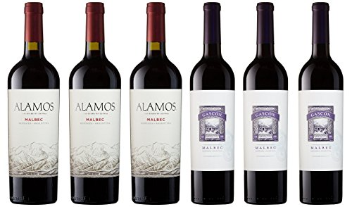 Malbec Lovers Red Wine Mixed Pack, 6 x 750 mL