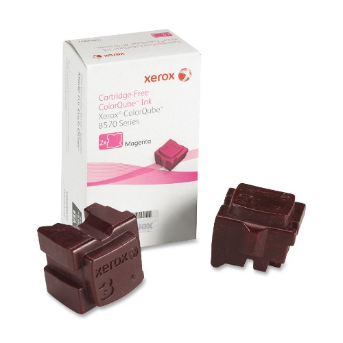- Genuine Xerox Magenta Solid Ink Sticks for the ColorQube 8570 (2 pcs/Box), 108R00927