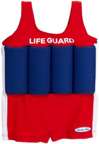 Costume Life da bambini galleggianti nuoto Bojen con Beverly rosso Guard Kids da blu wq1fnOT