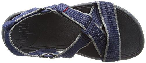 Back Fitflop Strap Sandali Sandals Midnight Uomo Sling II Charcoal 568 Multicolore Punta Webbing Navy Aperta in EqB1wErat
