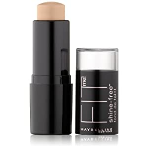 Maybelline New York Fit Me! Oil-Free Stick Foundation, 120 Classic Ivory, 0.32 Ounce