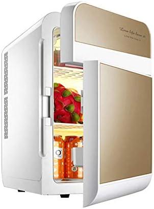 HUIQC Tragbarer Gefrierschrank-Auto-Kühlschrank, Car Home Dual-Core-Dual-Open-Kühlschrank, 20L 12V DC 220V AC-Kühlung Auto-Kühlschrank Mini-Kühlschrank Kleines Zuhause Micro-Kühlschrank Auto Dual-Use-