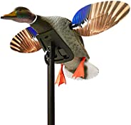 MOJO Elite Series Mini Mallard Spinning Wing Flexible Duck Decoy for Duck Hunting with Smoother, Quieter, Fast